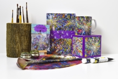 The Dandelion Collection by The Perky Painter Artist Helen Gibson