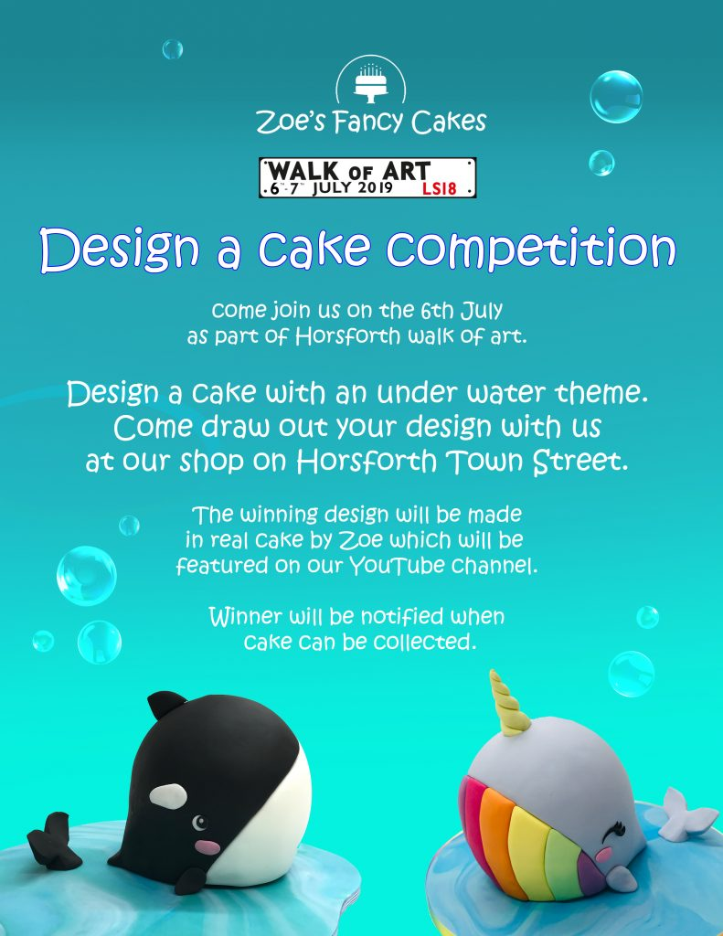Cupcake art: Design a cake competition  | Horsforth Walk of Art